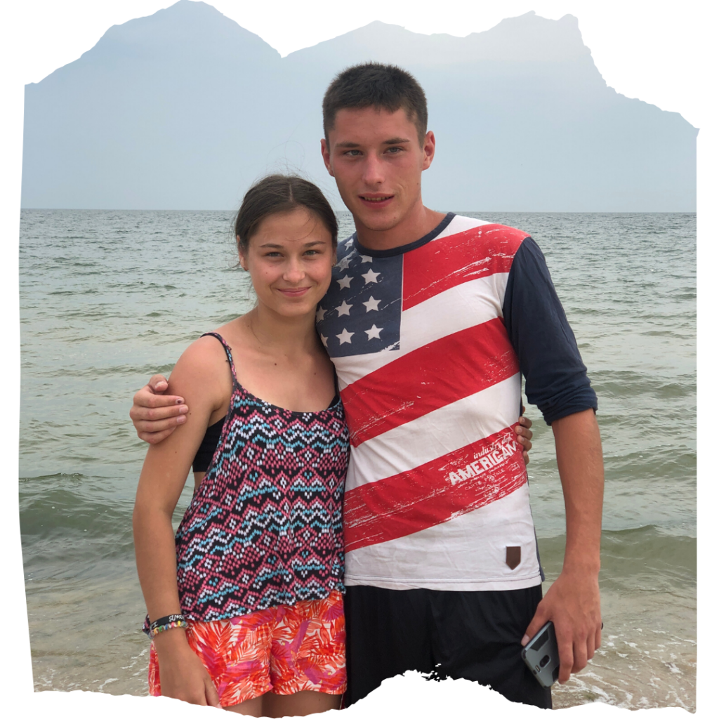 """Matching grant & Sergei at camp: """"I saw that God loves me"""""""